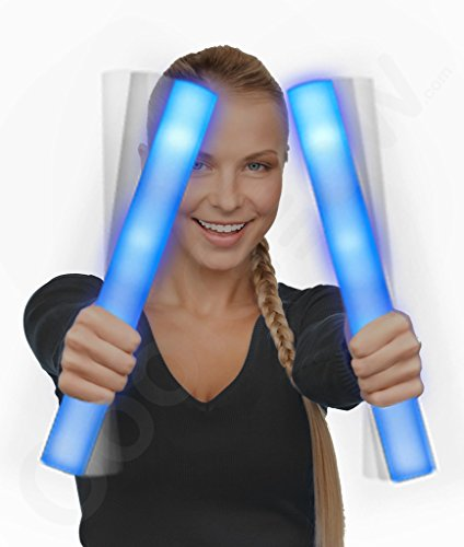 Fun Central G28 LED Foam Stick Baton Supreme - Blue - 1