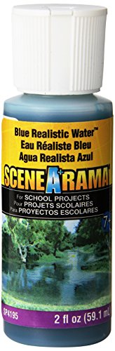 Realistic Water 2 Ounces-Blue - 1