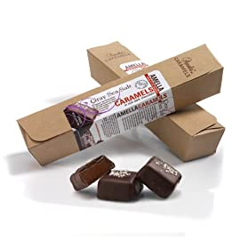 Gray Sea Salt Caramels in Dark Chocolate, 5.6 ounces (2 packs - 6 pcs/pack)
