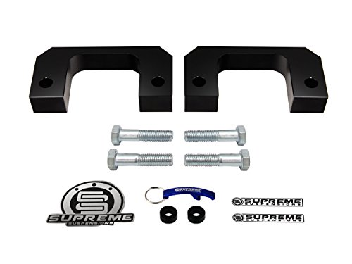 supreme-suspensions-silverado-1500-lift-kit-2-solid-aircraft-billet-front-lift-spacers-black-easy-in