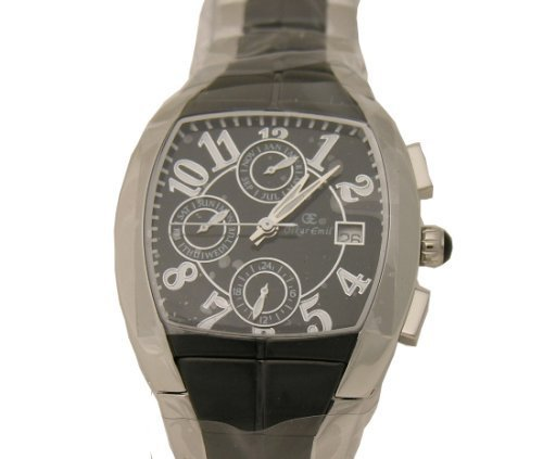 Oskar Emil Belfort S/S Black Multi Function Mens Watch