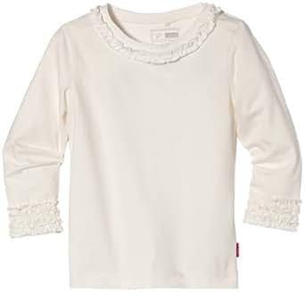 NAME IT Baby - Mädchen Pulli 13092024 PARLA MINI LS TOP, Gr. 104, Weiß (Cloud Dancer)