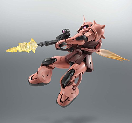 ROBOT魂 機動戦士ガンダム<SIDE MS>MS-06Sシャア専用ザク ver. A.N.I.M.E. 約125mm ABS&PVC製 塗装済み可動フィギュア
