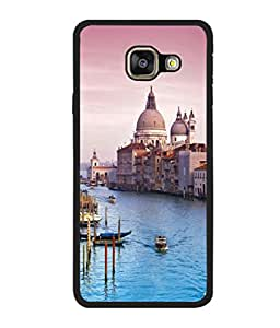 printtech Italy Sea Building Dome Back Case Cover for Samsung Galaxy A3 (2016) :: Samsung Galaxy A3 (2016) Duos with dual-SIM card slots
