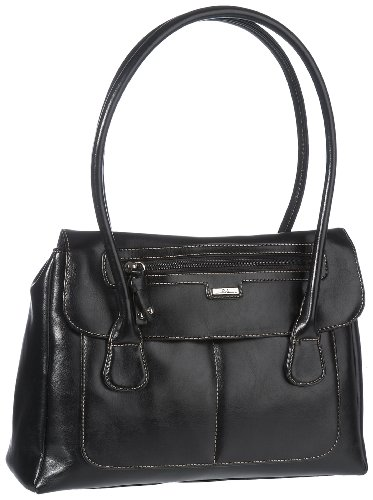 Jane Shilton Women's Shamrock 9148 Shoulder Bag Black