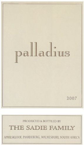 2007 Sadie Family Palladius White Blend 750 Ml