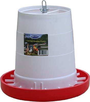 Farm Tuff 17-Pound Capacity Plastic Poultry Feeder
