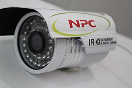 NPC 480TVL 36 LED Night Vison Weather Proof Bullet CCTV Camera