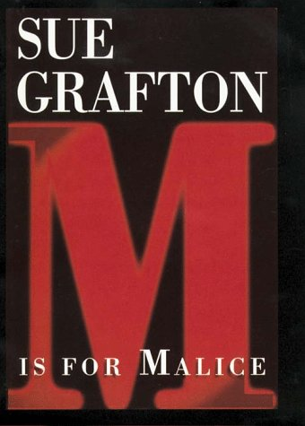 M Is for Malice (G K Hall Large Print Book Series)