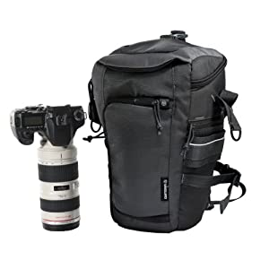 Vanguard Outlawz 17Z Sac photo zoom pour appareil numérique pro avec grand objectif Gris anthracite