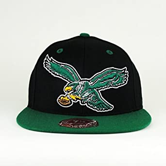 Philadelphia Eagles NFL 2 Tone XL Logo Fitted Hat Cap by Mitchell & Ness
