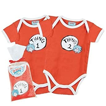 Amazon Dr Seuss Thing e and Thing Two Twosie Gift