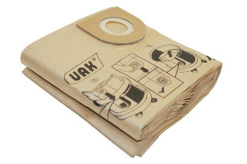 VO 1113104500 4000 Vax-Sacchetti di carta per aspirapolvere, confezione da 5