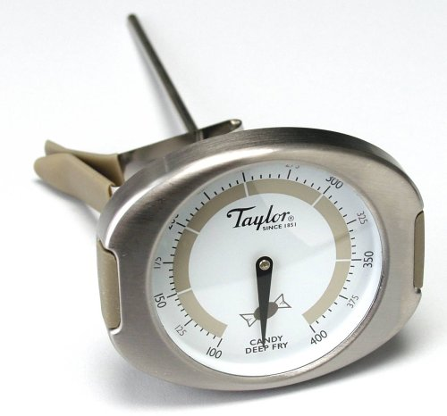Taylor 509 Connoissuer Line Candy-Deep Fry Thermometer