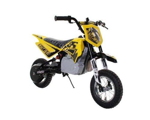 Dynacraft Surge Electric Dirt Bike, Yellow/Black