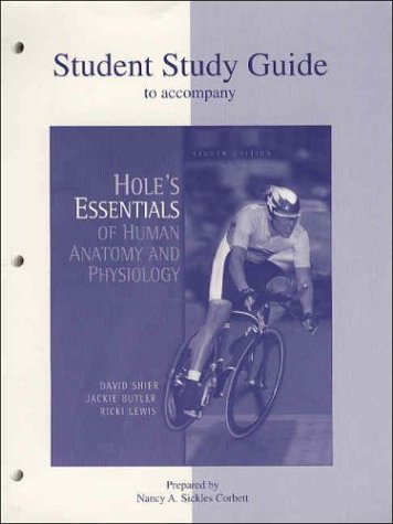 Essentials Hole Human Laboratory Manual Physiology