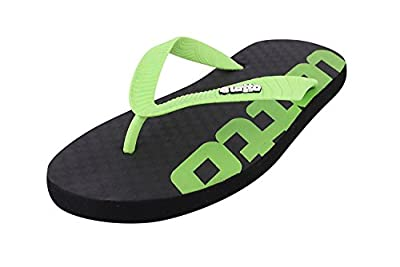 Lotto Men's Slipper LS-1 Brown/Lime GV1260 UK/IN