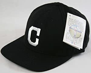 Cleveland Indians 1920 Cooperstown Black Fitted Cap Size 7 1 4 by American Needle