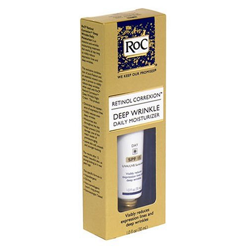 Roc Retinol Correxion Deep Wrinkle Daily Moisturizer, Spf 30, 1-ounce Tube