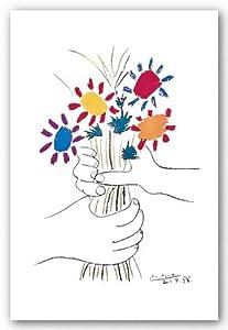 24x36 pablo picasso petite fleurs art print for Picasso petite fleurs