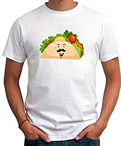 Mustache Taco Men T-Shirt