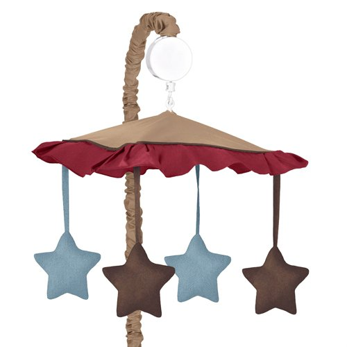 All Star Sports Musical Baby Crib Mobile by Sweet Jojo Designs - 1