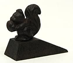 Cast Iron Squirrel Door Stop