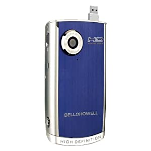 Bell and Howell DV600HD-B High Definition Digital Video Camcorder with Flip USB (Blue)