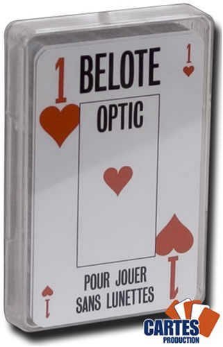 Jeu de 32 cartes : Belote optic (Grimaud)