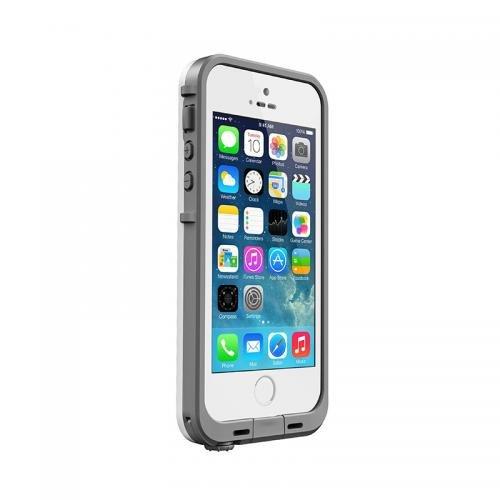 日本正規代理店品・保証付LIFEPROOF 防水防塵耐衝撃ケース LifeProof iPhone5/5s Fre White/Gray 2115-02