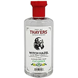 Cucumber Witch Hazel with Aloe Vera 12 Ounces
