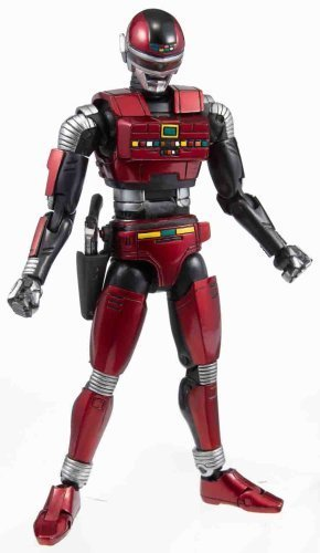 Action Works: Space Sheriff Sharivan Action Figure by Megahouse