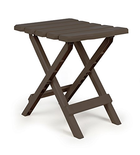 Camco 51882 Brown Regular Quick Folding Adirondack Side Table (Outside Table compare prices)