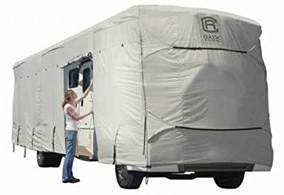 Classic Accessories 80-010-171001-00 PolyX 300 Grey Class A RV Cover