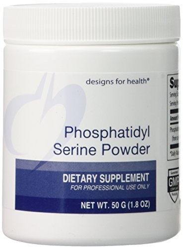Designs for Health Phosphatidyl Serine Powder, 50 Gram