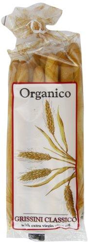 Organico Grissini Classico Organic 120 g (Pack of 8)