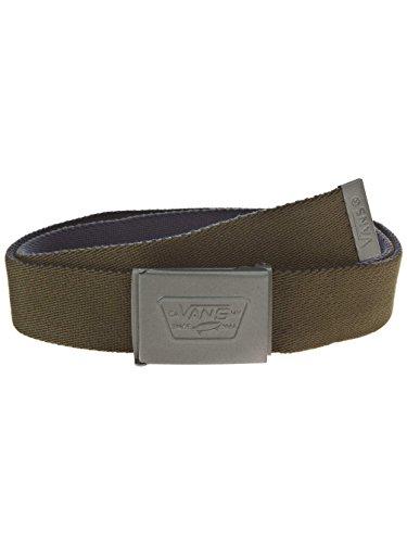 Vans - Knox Web Belt, Vestito Uomo, Verde (Rifle Green/Dress Blues), Taglia unica (Taglia Produttore: One Size)