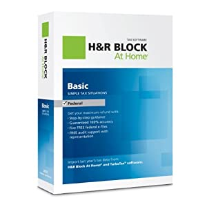 H&R Block At Home Basic 2012