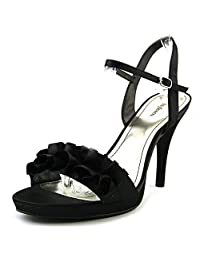 Style & Co Hottie Women Open Toe Textile Slingback Heel