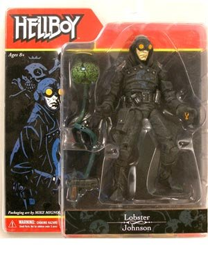 Buy Low Price Mezco Hellboy Series 1 Lobster Johnson Action Figure (B0013TYA6W)