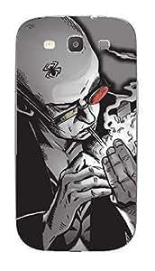 Upper case Fashion Mobile Skin Sticker for Samsung I9300 Galaxy S III