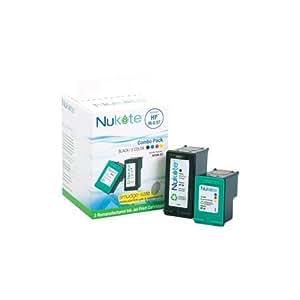 Nukote Rf296-97 Ink Jet Cartridge for Use With Hewlett Packard Deskjet 5740, 6540