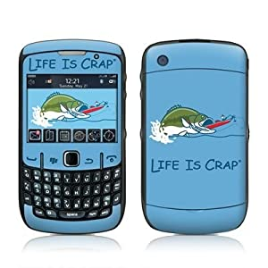 Bass Fishing Design Skin Decal Sticker for Blackberry Curve 8500 8520 8530 Cell Phone