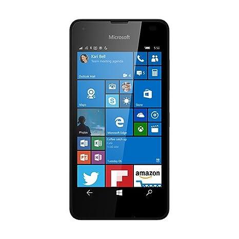 """Microsoft Lumia 550-Smartphone de 4,7"""" (1 Go de RAM 8GB Windows 10) Noir"""