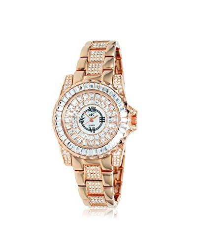 Adee Kaye Women's AK9-11LRG/CR Royal Collection Crystal & Brass Watch