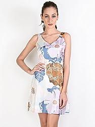 Oshea Multi Floral Print Tailored Dress