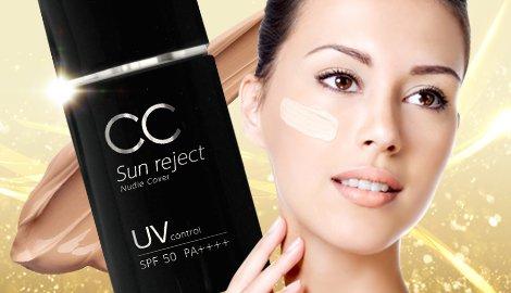 高級CCクリーム SPF50 PA++++ UVメイクアップベース 30ml