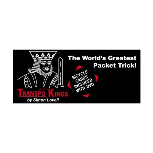 The TranspoKings with Simon Lovell (DVD) The World's Greatest Magic Packet Card Trick!