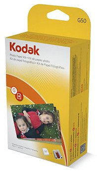 Kodak G 50 EasyShare Printer Dock Color Cartridge And Photo Paper Refill Kit B000I0TMAG