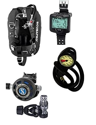 Scubapro MK25/G250V Luna Wrist Tek Scuba Package obtained from Scubapro